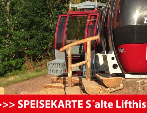 Eine gemütliche Auszeit mit Vesper in Skigondeln beim Kernhof in Seebach genießen.